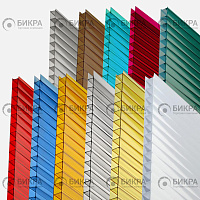 Сотовый поликарбонат цветной Borrex 25 мм